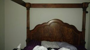 King size bed frame orig 2400. 400 obo. You haul by Thurs 9/20 for Sale in Rockville, MD