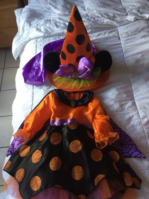 Disney Minnie Mouse Witch Costume for Sale in Miami, FL