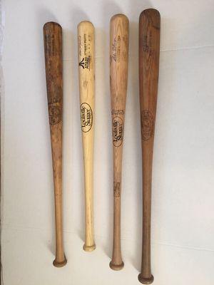 Vintage wooden baseball bats - Mantle, Madlock, Kaline, Galaraga for Sale in Cheswick, PA