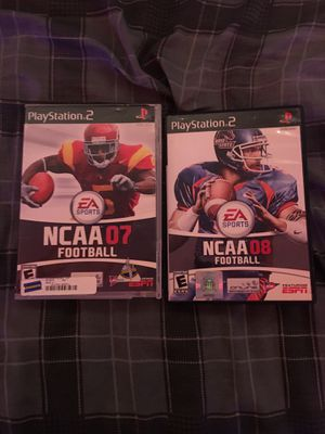 Ps2 ncaa 07,08 Lot for Sale in Davenport, IA