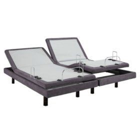 Deal- New split king adjustable bed frame+Split king Tempur-pedic rhapsody breeze mattresses in plastic 2 twin xl split kings for Sale in Portland, OR