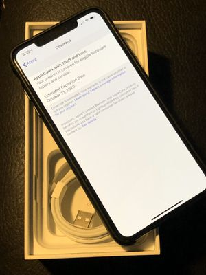 IPhone X Max 512GB Black AT&T Unlocked - $800 (Fort Worth) for Sale in Fort Worth, TX