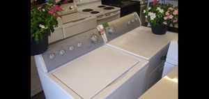 WHIRLPOOL Electric washer dryer set fully functional highly recommend for Sale in Fresno, CA
