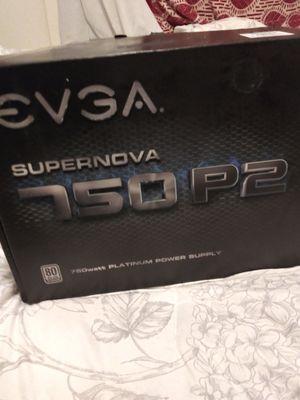 Evga Supernova 750 p2 platinum for Sale in Bell Gardens, CA