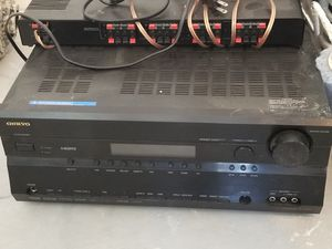 Powerful onkyo receiver for Sale in El Paso, TX