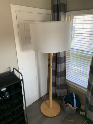 Modern light wood lamp for Sale in Dallas, TX