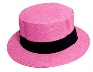 Fedora Hats Women Flat Top Hats Pink Colors ( FedHat72 Z) for Sale in Chula Vista, CA