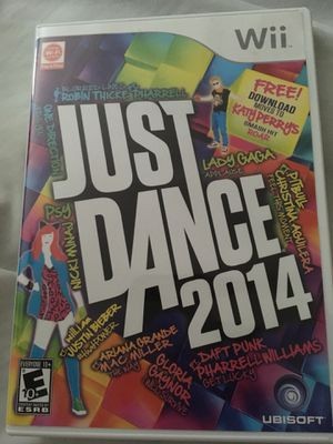 Just Dance 2014 Wii for Sale in Lutherville-Timonium, MD