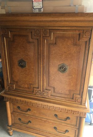 Beautiful Antique Armoire- $125 OBO for Sale in San Diego, CA