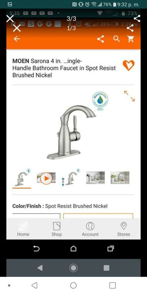 Bathroom faucet.. price for each for Sale in Grand Prairie, TX