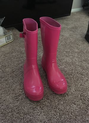 Girls Rain boots size 5 for Sale in Imperial, CA