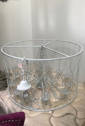 Round Wire Chandelier - Brand New for Sale in Houston, TX