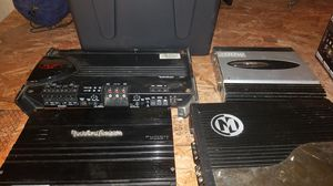 Car audio amplifiers for Sale in Joint Base Lewis-McChord, WA