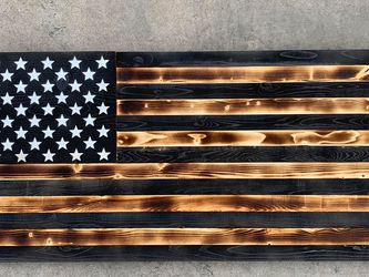 100% handmade in USA rustic wooden flag for Sale in Whittier,  CA