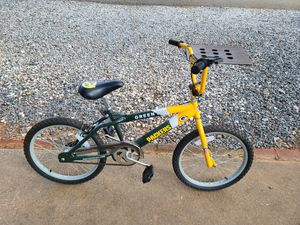 Greenbay packers bicycle for Sale in Marksville, LA