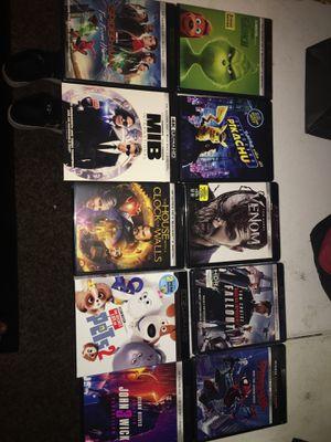 UHD 4K movies / dvds / blu rays for Sale in Clovis, CA