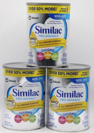Similac Pro Advance 36oz (6 count) for Sale in Greensboro, NC