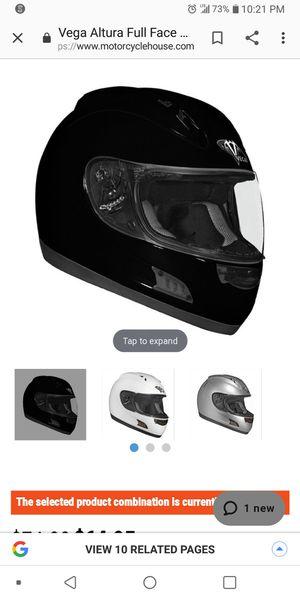 Vega motorcycle helmet for Sale in Cleveland, OH