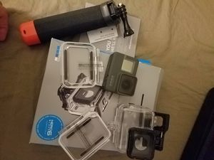 Gopro hero 6 black with accessories for Sale in Charlotte, NC