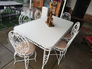 Victorian patio set cast iron for Sale in Moreno Valley, CA
