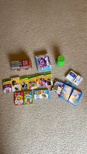 Lot of games, puzzles and flash cards for Sale in Olympia, WA