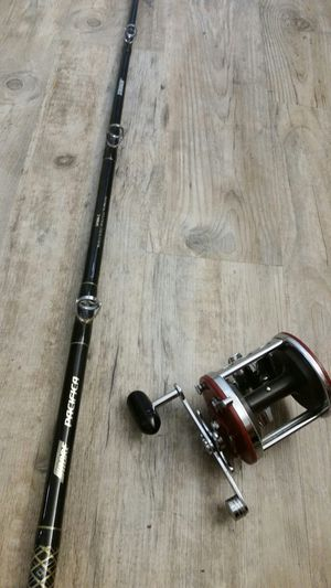 Sabre Pacifica Saltwater Fishing Rod / Jig master Combo for Sale in Phoenix, AZ