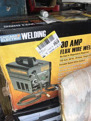 Chicago electric 90 amp flux wire welder for Sale in Reynoldsburg, OH