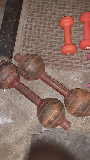 Weider go-go dumbbells for Sale in McKeesport, PA