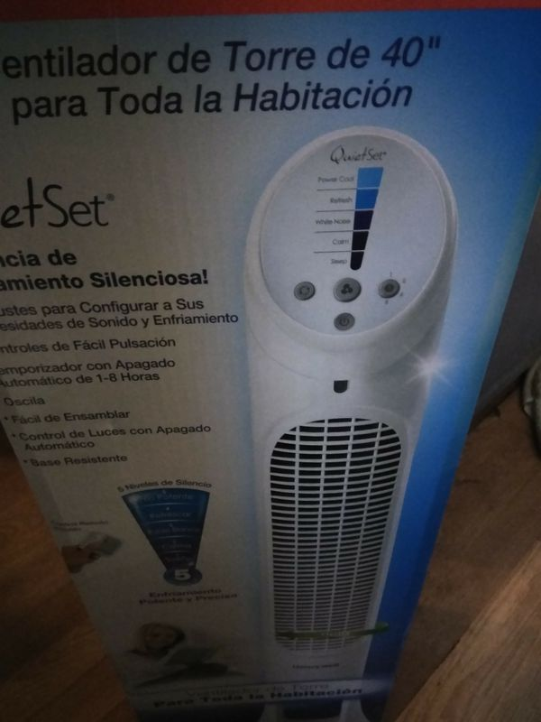 """Honeywell 40"""" quiet set Tower Fan with Remote and Timer"""