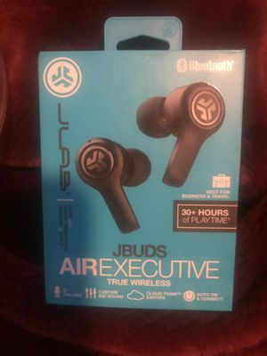 JBuds Air Executive Bluetooth Wireless Earbuds for Sale in Bellingham, WA