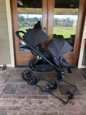 Almost New City Select Lux Double Stroller & Extras ***$800 See Description! for Sale in Arlington, WA