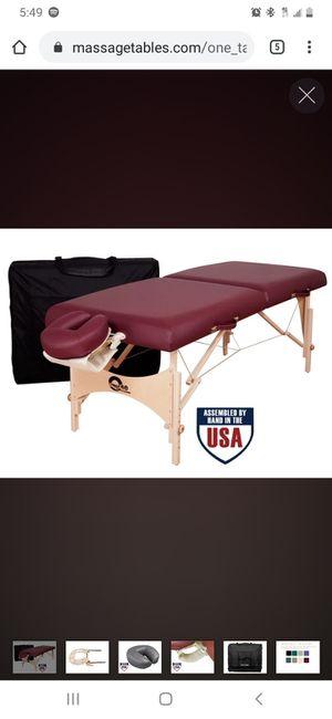Oak Works Massage Table for Sale in Gulfport, FL