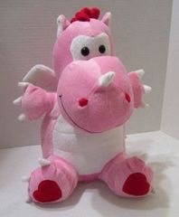 New pink dragon heart plushie toy for Sale in Sacramento, CA