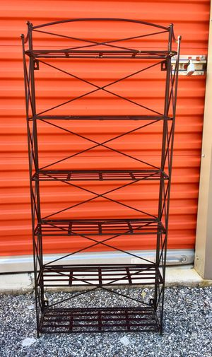 Folding Metal Shelving Unit for Sale in Baltimore, MD