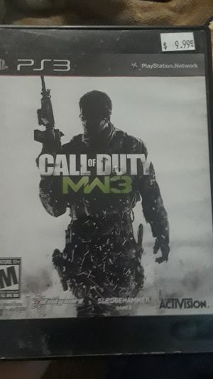 Ps3 modern warfare 3 for Sale in Bellevue, WA