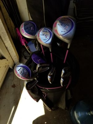 Wilson Hope Breast Cancer Awareness Series Golf Clubs for Sale in Moreno Valley, CA