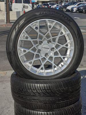 "18"" Altima Accord Camry Lexus BMW Wheels & Tires Mercedes Kia MAZDA infinity Acura Civic Maxima Scion setof4 for Sale in Los Angeles, CA"