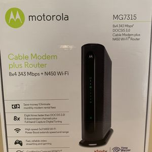 Motorola modem/router for Sale in San Diego, CA