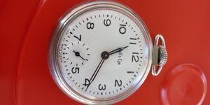 Bulls eye Vintage USA made pocket watch for Sale in Santa Maria, CA