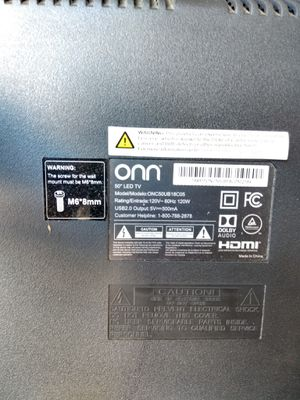 "50 "" Onn LED TV for Sale in Commerce, CA"