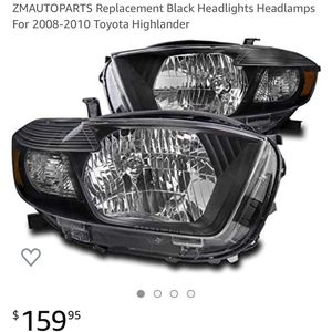 Toyota Highlander Replacement Headlights for Sale in Anaheim, CA