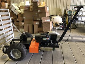 Trailer motorized electric start tug never used for Sale in Findlay, OH
