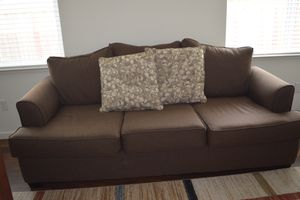 d8396b5aae6 Almost new sofa set with pillows for Sale in Antioch