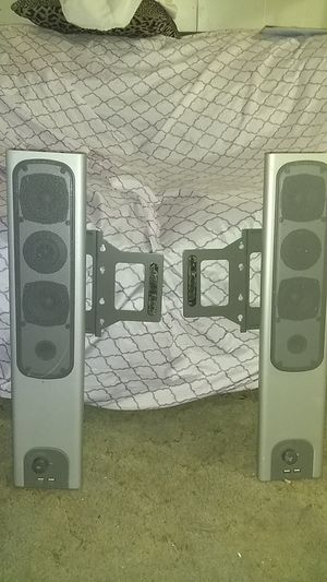 Usb audio system speakers 2 piece nothing wrong with them .. for Sale in Balch Springs, TX