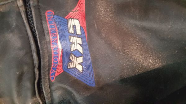 CKX leather snowmobile bibs