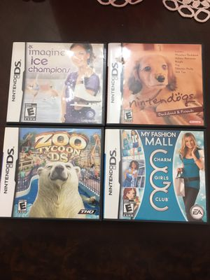 All four Nintendo DS Games for Sale in Aurora, IL