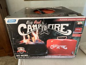 Portable Camp fire BBQ Fire pit for Sale in Huntington Beach, CA