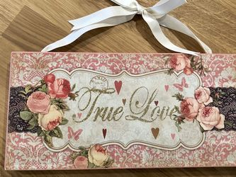 """True Love"" Wooden Sign for Sale in Seattle,  WA"