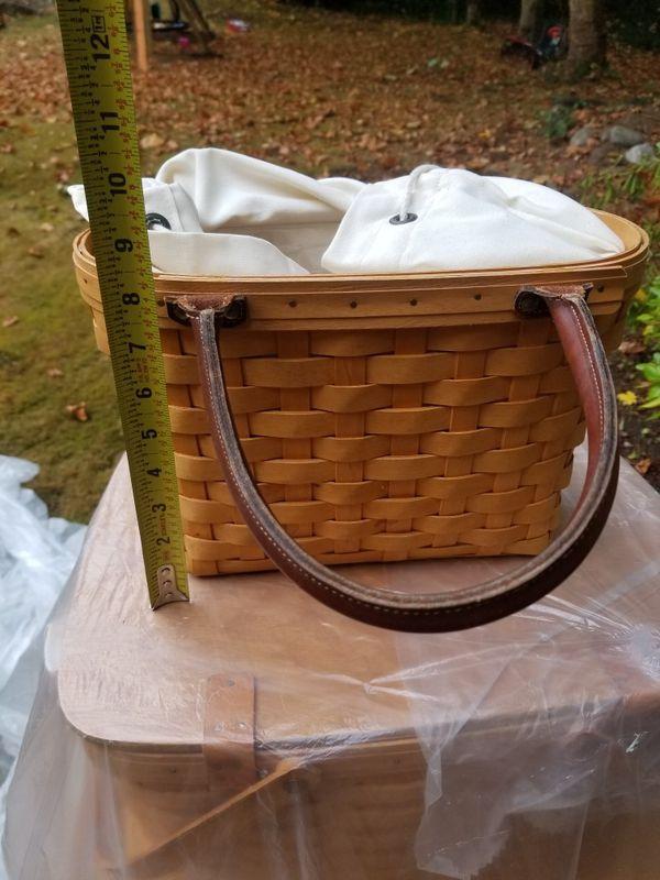 Longaberger basket purse