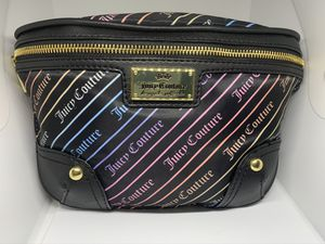 Juicy Couture multi color gold fanny pack bag for Sale in Rex, GA